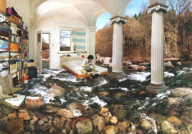 """Сён Вон Вон, Из серии """"Идеальные комнаты"""", 70 х 100cm, C-print, 2002"""