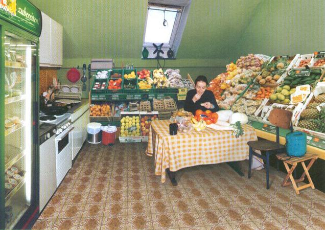 """Сён Вон Вон, Из серии """"Идеальные комнаты"""", 70 х 100cm, C-print, 2000"""