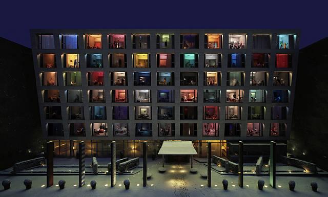Ин Сук Ким, Гранд Отель, C-print, 2007