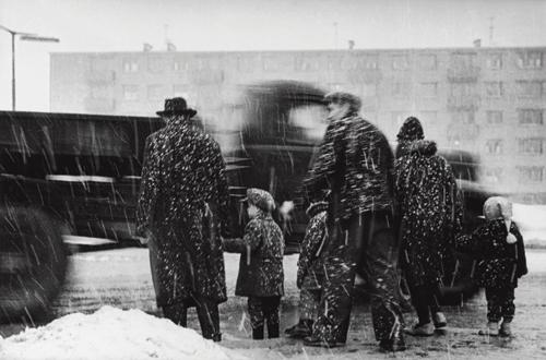&laquo;Слякоть&raquo; <br />Жирмунай, Вильнюс, 1965