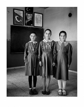 Sweet Nothings: Rural Schoolgirls from the Borderlands of Eastern Anatolia. © Vanessa Winship