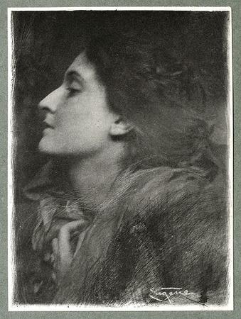 <p>Lady of&nbsp;Charlotte <br /> EUGENE, FRANK, b<nobr>.1865&mdash;1936</nobr><br /> Camera Notes Vol. 3&nbsp;No.&nbsp;4,&nbsp;1900<br /> 8.5&nbsp;&times;&nbsp;11.5&nbsp;cm<br /> Photogravure</p>