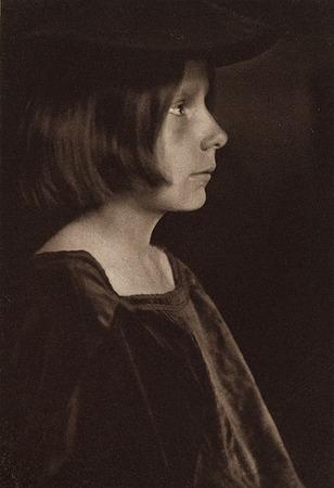 <p>Portrait Study<br /> KASEBIER, GERTRUDE, b<nobr>.1852&mdash;1934</nobr><br /> Camera Notes Vol. 3&nbsp;No.&nbsp;1,&nbsp;1899<br /> 10.3&nbsp;&times;&nbsp;15.2&nbsp;cm<br /> Photogravure</p>