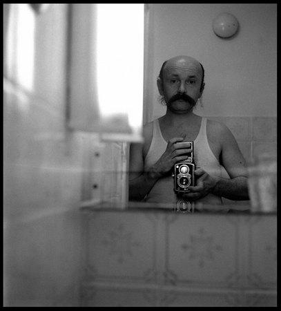 ©Александр Слюсарев . «Автопортрет. 1981»