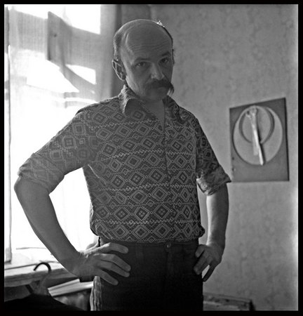 ©Александр Слюсарев . «Автопортрет. 1979»