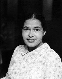 Rosa Parks. Ida Berman (born 1911). Gelatin Silver Print, 1955. National Portrait Gallery, Smithsonian Institution. (c) Ida Berman