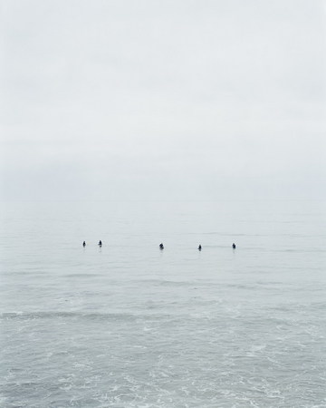 Catherine Opie. Untitled #10 (Surfers), 2003. Chromogenic print. 50 x 40 inches (127.0 x 101.6 cm). Edition of 5. © 2008 Catherine Opie. Courtesy the artist and Regen Projects, Los Angeles