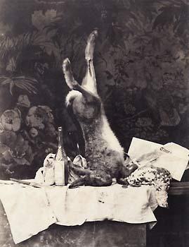 Camille Silvy. Jagdstillleben mit The Times. nach 1859 © Sammlung Dietmar Siegert