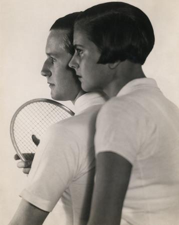 Мартин Мункачи<br /> «Теннисист Готфрид Фрейхер фон Крамм со своей женой Элизабет »