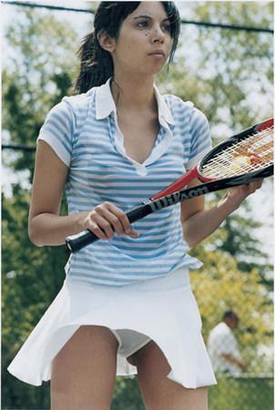 """RICHARD KERN: Tennis, 2007; cibachrome; 40 x 30"""" ed."""