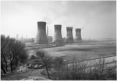John Davies , Agecroft Power Station, Salford, 1983  � John Davies