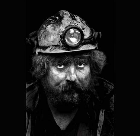 Coal-face worker, retired miner, Merthyr Tydfil, 1993 Philip Jones Griffiths/Magnum Photos. 