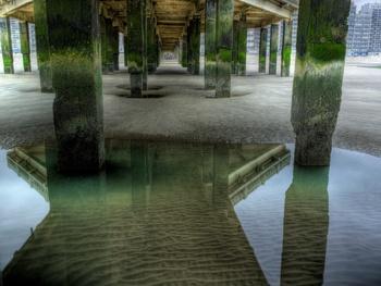 Carl De Keyzer. Belgium 1. Series: Moments before the Flood. C-Print. 115 x 150 cm. 2006. Blankenberge, Belgium