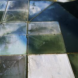David Maisel.  Terminal Mirage 1. Series: Terminal Mirage. C-Print. 122 x 122 cm. 2004. Great Salt Lake, Utah
