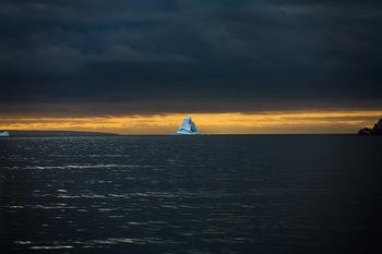 Sebastian Copeland. Farewell. Series: Antarctica: The Global Warning. Archival Pigment Inkjet Print. 36 x 55 cm. 2006. Livingston Island, Antarctica
