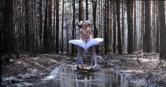 <p>Группа «Синие носы», «Целующиеся балерины»</p>