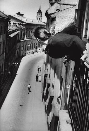 Антанас Суткус «Марафон на Университетской улице», 1959