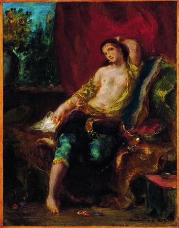 Eugène Delacroix Odalisque © Collection particulière