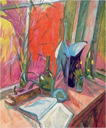 Сергей Урусевский «Натюрморт возле окна», 1972