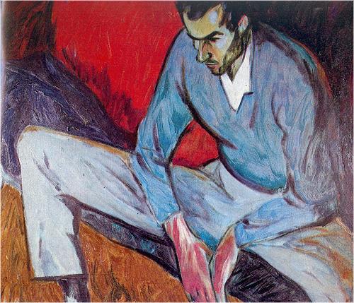 Сергей Урусевский «Портрет П. Грушко», 1963