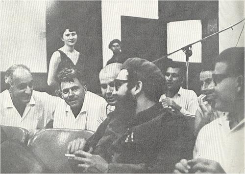 Сергей Урусевский с Фиделем Кастро<br />1964