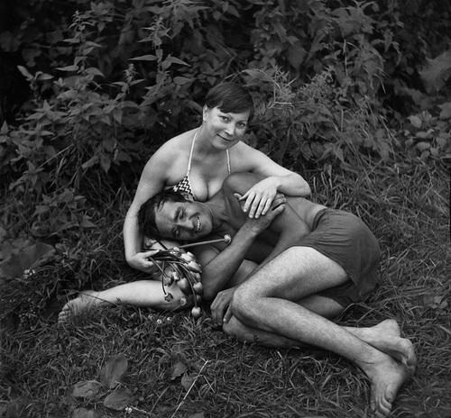 ©Николай Бахарев. «Из цикла «Отношение» № 7, 1985. Новокузнецк»