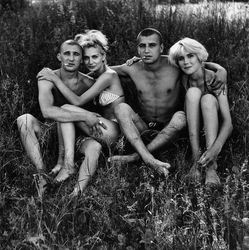 ©Николай Бахарев. «Из цикла «Отношение» № 70, 1991-93. Новокузнецк»