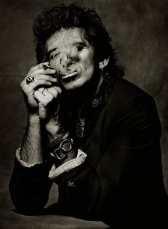 Кит Ричардс (Keith Richards), Нью-Йорк, 1998. © Albert Watson