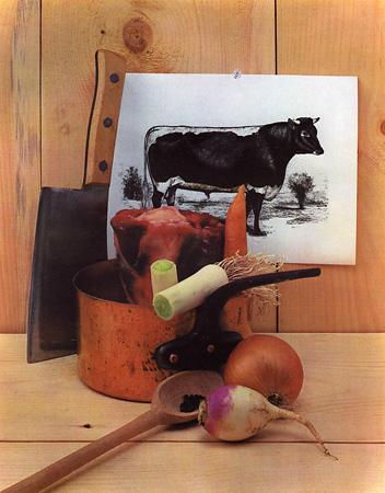 Beef Still Life. New York, 1943 © Irving Penn