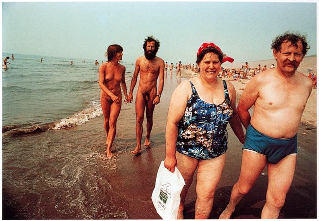 Пляж в Зандворте. Нидерланды, 1970-5