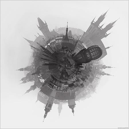 <b>1 место (отдельная фотография)</b><br /> Анатолий Лаптев (Нижний Новгород)<br /> «Глобус – ежик Праги»