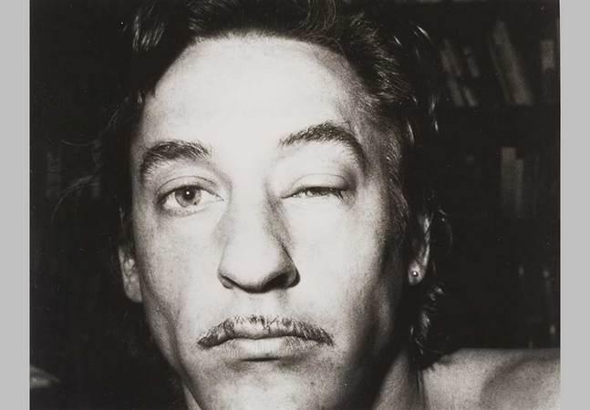 "Edward Ruscha b. 1937, "" Swollen Eye"", 1973, Gelatin silver print , Sheet: 7 15/16 x 9 15/16in. (20.2 x 25.2cm), Whitney Museum of American Art, New York. Gift of Carla Emil and Rich Silverstein 2007.80. © Ed Ruscha."