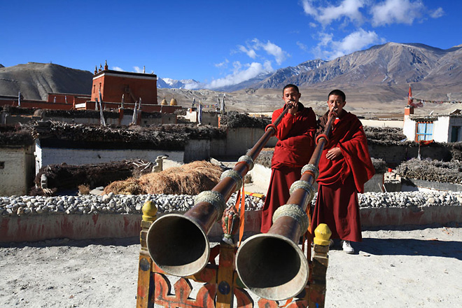 Непал страна храмов и гор