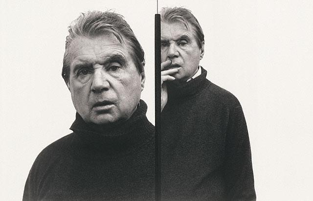 Ричард Аведон<br>Портрет художника Фрэнсиса Бэкона<br>Желатиновая галогено-серебрянная печать, 1979