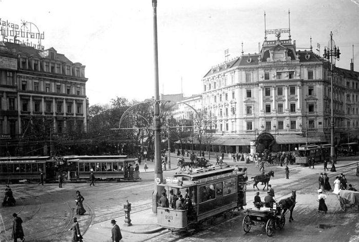 Gebruder Haeckel. Berlin, Potsdamer Platz. 1907 Deutsches Bundesarchiv (German Federal Archive)