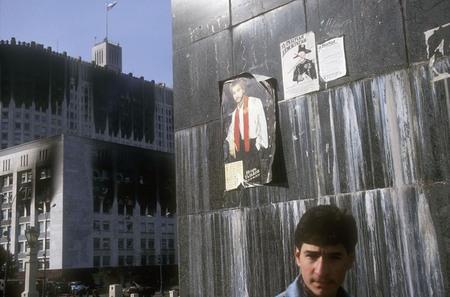 Сергей Бурасовский<br /> Из серии «Черный октябрь 1993 года». Москва <br /> 1993