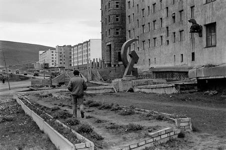 Сергей Бурасовский<br /> Холодное лето 1989 года в городе Певек. Чукотка <br /> 1989