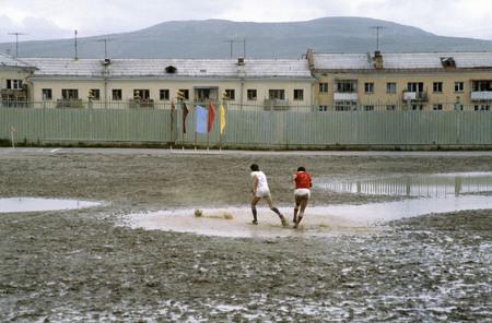 Сергей Бурасовский<br /> Футбол по-магадански. Магадан <br /> 1982