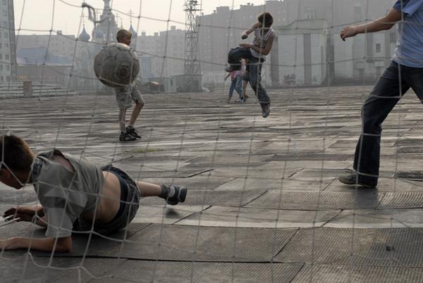 ©Александр Сорин. «Норильск, стадион «металлург». 24.07.2006»