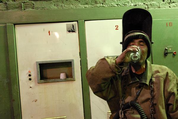 ©Александр Сорин. «Норильск, медеплавильный завод. 26.07.2006»