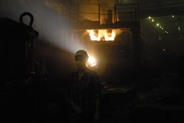 ©Александр Сорин. «Норильск, механический завод. 03.08.2006»