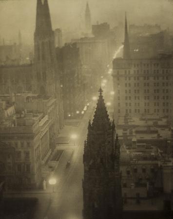Элвин Л. Кобурн<br>Пятая авеню<br>платиновый отпечаток, 1905