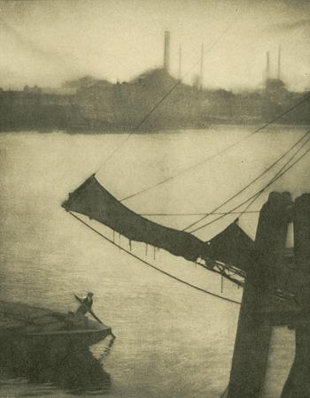 Элвин Л. Кобурн<br>Уоппинг<br>фотогравюра, 1904
