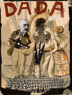 Эрвин Блюменфельд<br> Дада<br> Коллаж, 1930