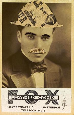 Эрвин Блюменфельд<br> Чарли Чаплин<br> Коллаж, 1923