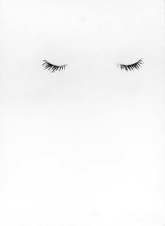 Эрвин Блюменфельд<br> Закрытые веки<br> Желатиновый галогено-серебряный отпечаток, 1937