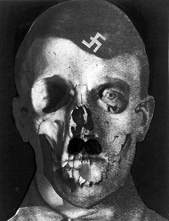 Эрвин Блюменфельд<br> Гитлер<br> Фотомонтаж, 1933