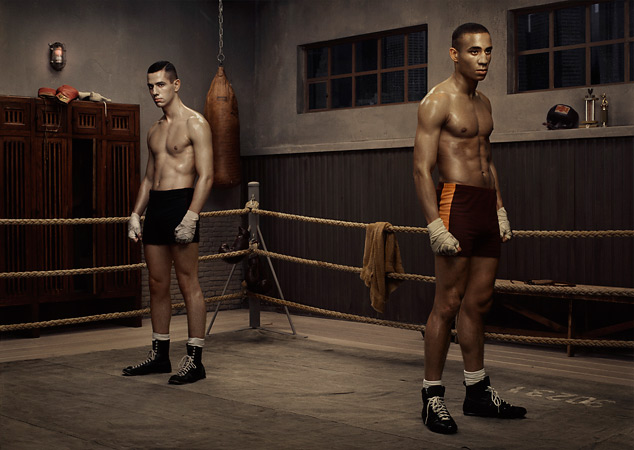 Эрвин Олаф. Школа бокса. Из серии «Надежда». 2005<br />