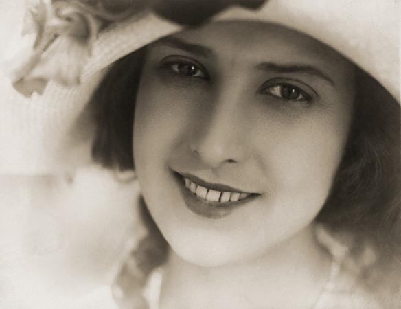 Марк Магидсон<br /> Актриса Мария Стрелкова. 1930