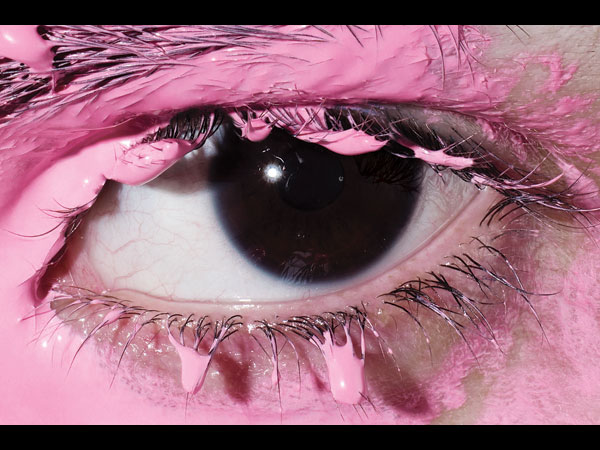 Richard Burbridge, Pink Eye, 2008 © Richard Burbridge. Courtesy the artist.
